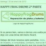 Mas Batería · HappyFrogDrums 2ª parte