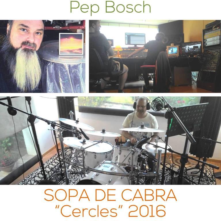 Afimacion de baterias - Pep Bosch - Sopa de cabra - Cercles - Instagram - www.happyfrogdrums.com
