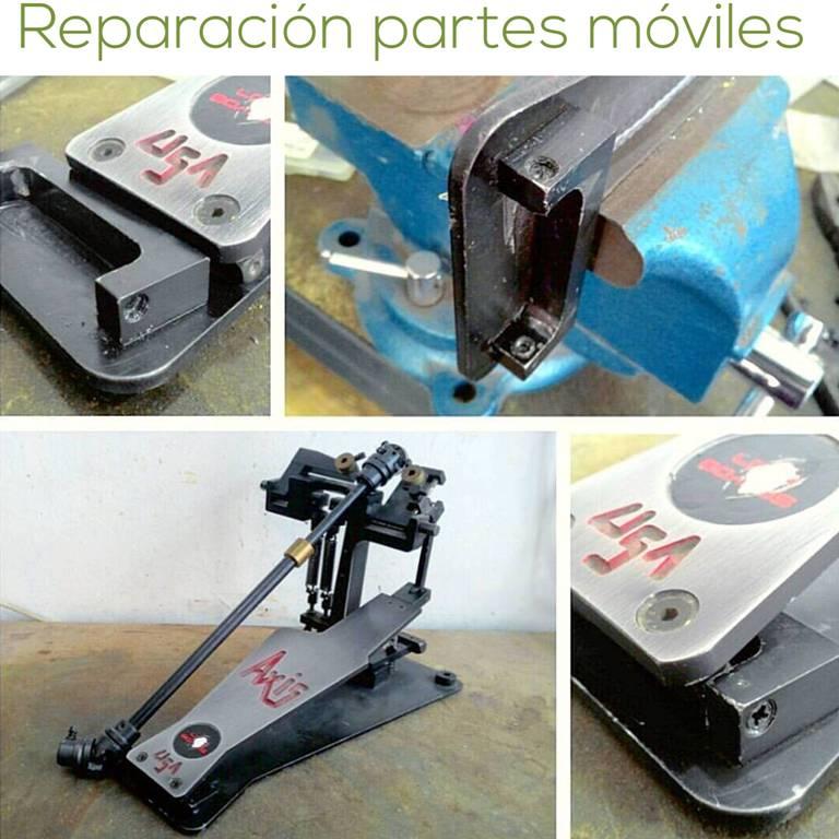 Reparación de partes móviles Instagram www.HappyFrogDrums.com