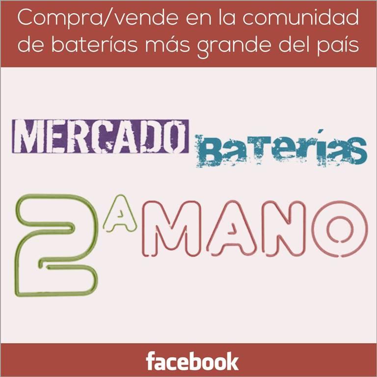 Únete a la comunidad de baterías más grande de todo el país - Facebook - Mercado Baterías 2a Mano - www.HappyFrogDrums.com
